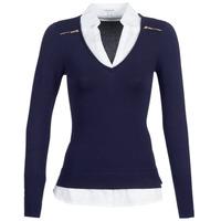 textil Mujer Jerséis Morgan MYLORD Azul / Blanco