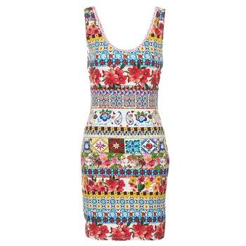 textil Mujer Vestidos cortos Desigual OCONDE Multicolor