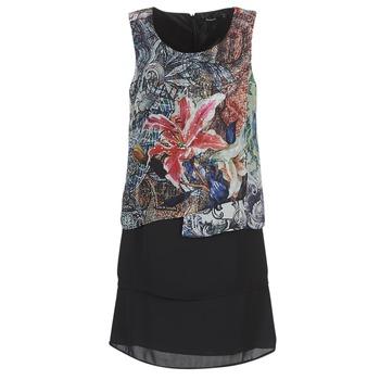 textil Mujer vestidos cortos Desigual OULKE Multicolor