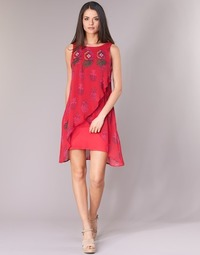 textil Mujer vestidos cortos Desigual DORIJE Rojo