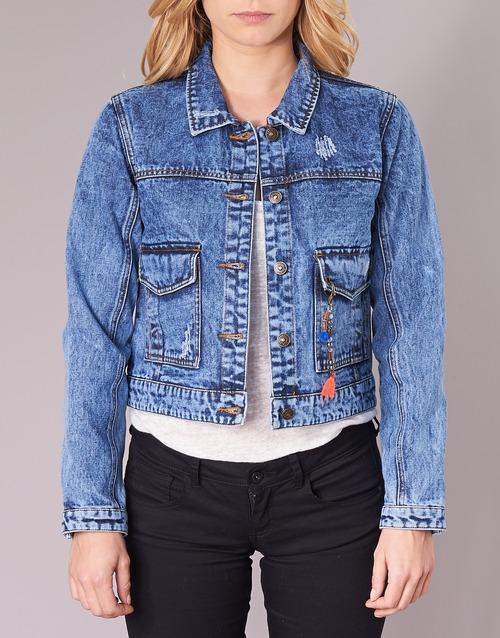 Mujer Denim Textil Buche Azul Kaporal Chaquetas wm0N8n