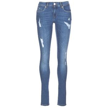 textil Mujer vaqueros slim Kaporal LOKA Azul / Medium