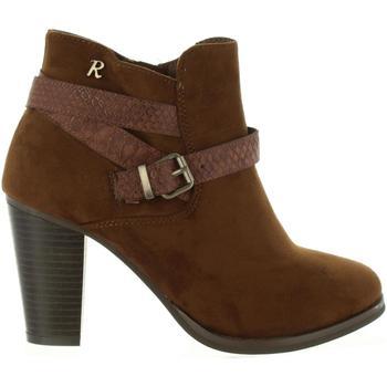 Zapatos Mujer Botines Refresh 63633 Marr?n