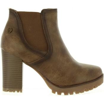 Zapatos Mujer Botines Refresh 63928 Marr?n
