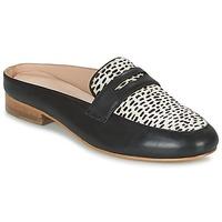 Zapatos Mujer Zuecos (Mules) Maruti BELIZ Negro / Blanco