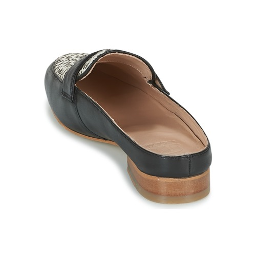 Beliz Zapatos ZuecosmulesMaruti NegroBlanco Mujer TJF1lKc