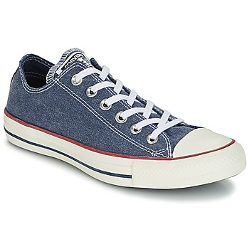 Zapatos Zapatillas bajas Converse Chuck Taylor All Star Ox Stone Wash Marino
