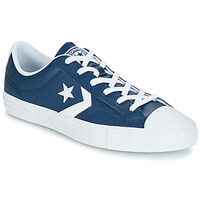 Zapatos Hombre Zapatillas bajas Converse Star Player Ox Leather Essentials Marino