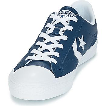 Converse Star Player Ox Leather Essentials Marino