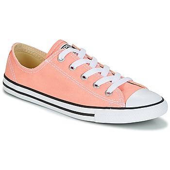 Zapatos Mujer Zapatillas bajas Converse Chuck Taylor All Star Dainty Ox Canvas Color Rosa