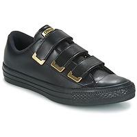 Zapatos Mujer Zapatillas bajas Converse Chuck Taylor All Star 3V Ox SL + Hardware Negro / Dorado