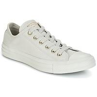 Zapatos Mujer Zapatillas bajas Converse Chuck Taylor All Star Ox Mono Glam Canvas Color Gris