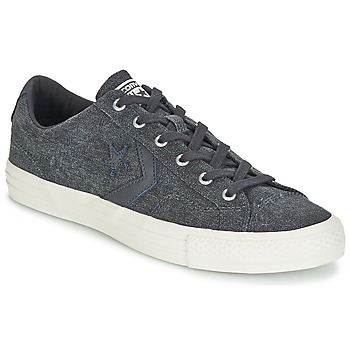 Zapatos Hombre Zapatillas bajas Converse Star Player Ox Fashion Textile Gris