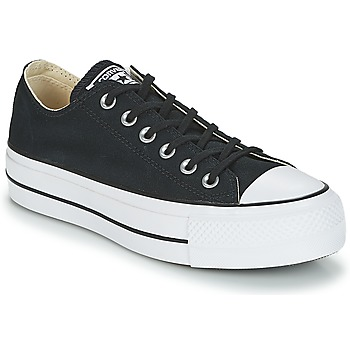 bb05562dbe1 Zapatos Mujer Zapatillas bajas Converse Chuck Taylor All Star Lift Clean Ox  Core Canvas Negro