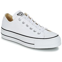 Zapatos Mujer Zapatillas bajas Converse Chuck Taylor All Star Lift Clean Ox Core Canvas Blanco