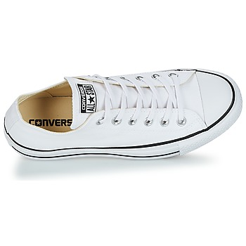 Converse Chuck Taylor All Star Lift Clean Ox Core Canvas Blanco