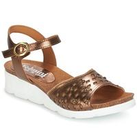 Zapatos Mujer Sandalias Felmini BRONZINO Bronce
