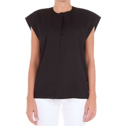 textil Mujer camisetas sin mangas Paco Rabanne 17ECT0017LA0145 Top Mujer negro negro