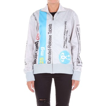 textil Mujer sudaderas Moschino Couture SS17A17014128 Sudadera Mujer Gris y azul Gris y azul
