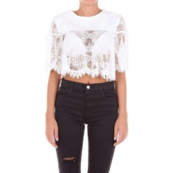textil Mujer Tops / Blusas McQ Alexander McQueen 455550RJC06 Top Mujer Blanco Blanco