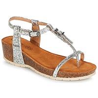 Zapatos Mujer Sandalias LPB Shoes KISS Plata