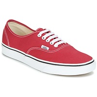 Zapatos Zapatillas bajas Vans AUTHENTIC Rojo