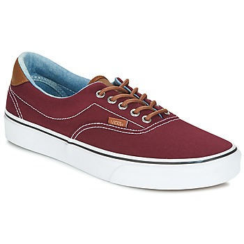 Zapatos Hombre Zapatillas bajas Vans ERA Burdeo