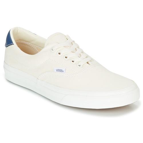 Zapatos especiales para hombres y mujeres Vans ERA Blanco