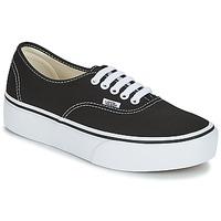 Zapatos Mujer Zapatillas bajas Vans AUTHENTIC Negro