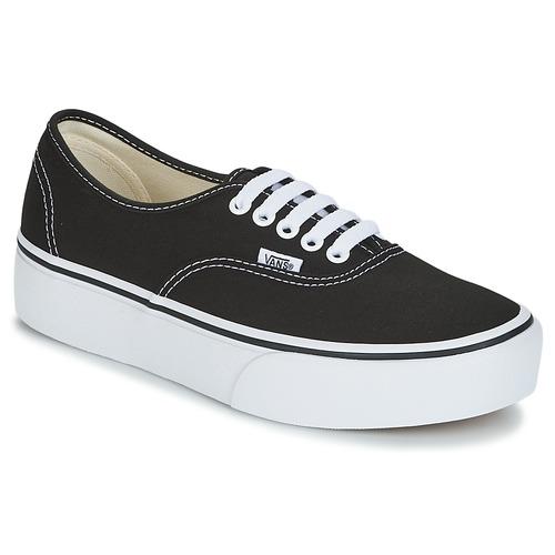 Zapatos promocionales Vans AUTHENTIC Negro  Cómodo y bien parecido