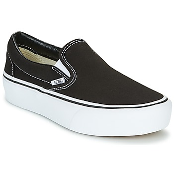 Zapatos Mujer Slip on Vans SLIP-ON PLATFORM Negro