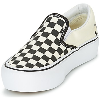 Vans SLIP-ON PLATFORM Negro / Blanco