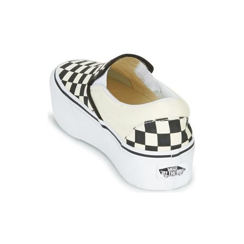 On Slip Vans Slip NegroBlanco Mujer on Platform Zapatos PTwOkXiulZ
