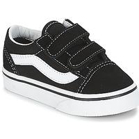Zapatos Niños Zapatillas bajas Vans OLD SKOOL V Negro