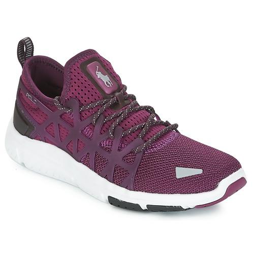 Zapatos Mujer Zapatillas bajas Polo Ralph Lauren TRAIN 200 Violeta