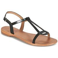 Zapatos Mujer Sandalias Les Tropéziennes par M Belarbi HAMAT Negro