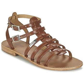 Zapatos Mujer Sandalias Les Tropéziennes par M Belarbi HIC Tan