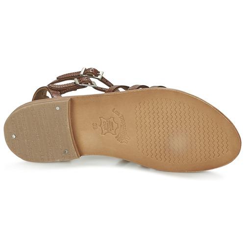 Par Sandalias M Belarbi Tropéziennes Zapatos Mujer Hic Tan Les wyv0N8OPmn