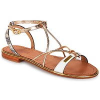 Zapatos Mujer Sandalias Les Tropéziennes par M Belarbi HIRONDEL Blanco