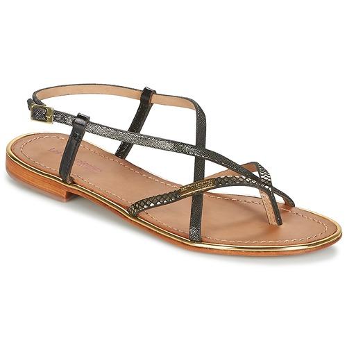 Zapatos Mujer Sandalias Les Tropéziennes par M Belarbi MONACO Negro / Oro