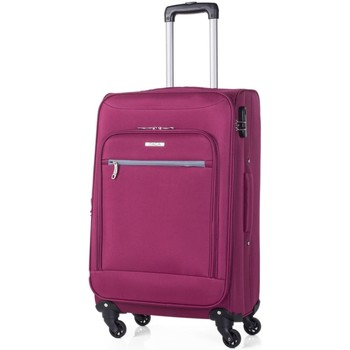 Bolsos Maleta flexible Itaca TROLLEY EXPANDIBLE Fucsia