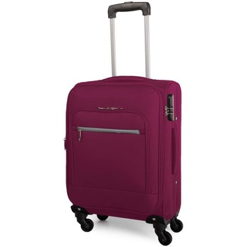 Bolsos Maleta flexible Itaca TROLLEY PARA CABINA LOW COST EXPANDIBLE Fucsia