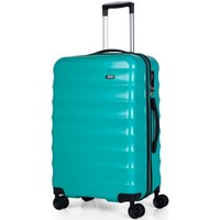 Bolsos Valise Rigide Jaslen TROLLEY MEDIANO ABS/PC FASHION COLORS CON TSA Verde
