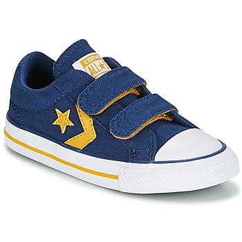 Zapatos Niño Zapatillas bajas Converse Star Player EV 2V Ox Sport Canvas Azul