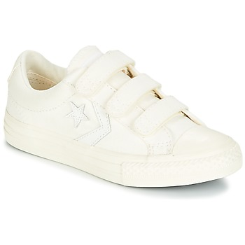 Zapatos Niño Zapatillas bajas Converse Star Player EV V Ox March Canvas Blanco