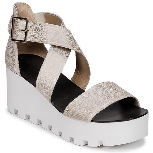 Zapatos Mujer Sandalias Sweet Lemon SUBWAY Plata