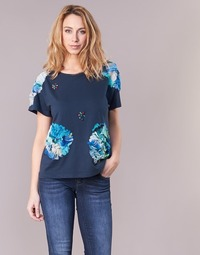 textil Mujer camisetas manga corta Derhy BANGKOK Marino