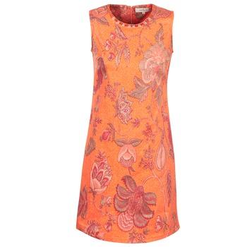 textil Mujer vestidos cortos Derhy ANTILLAIGAN Naranja