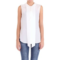 textil Mujer Tops / Blusas Moschino Couture J02060437 Camisa Mujer Blanco Blanco