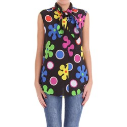 textil Mujer Tops / Blusas Moschino Couture J02170555 Camisa Mujer Negro multicolor Negro multicolor